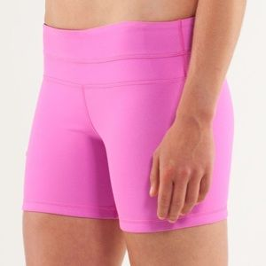 Lululemon Reversible Shorts Pink